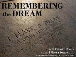 The 10 best quotes from I Have a Dream via Relatably.com