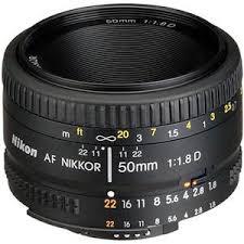 <b>Nikon 50mm f/1.8D AF NIKKOR</b> Lens - <b>Nikon</b> U.S.A. Warranty 2137