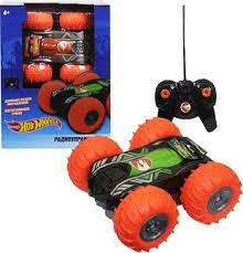 Машинка 1 Toy трюковая <b>машина</b>-<b>перевёртыш на р/у</b> Hot Wheels ...