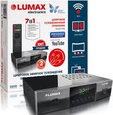 <b>Цифровой телевизионный ресивер Lumax</b> DV 3211 HD купить в ...