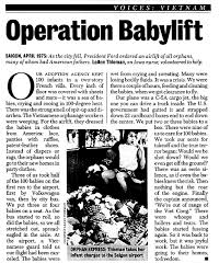 「operation babylift」の画像検索結果
