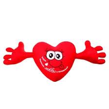 """Мягкая <b>игрушка</b>-<b>антистресс</b> сердце с руками """"Требую внимания ..."""