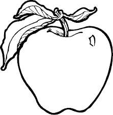 Small Picture Fruits And Vegetables Coloring Page Free Download