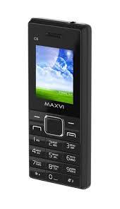 Мобильный <b>телефон MAXVI C9</b> Black-black — купить в интернет ...
