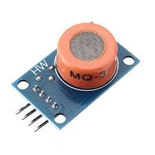 3pcs <b>LM393 MQ3 MQ-3</b> Sensor Ethanol Gas Analog Sensor TTL ...