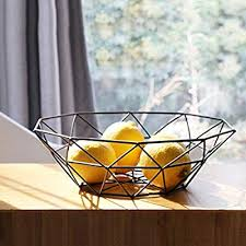 Addin Fruit Basket <b>European Iron Art</b> Modern Simple Creative Fruit ...