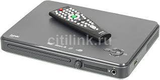 Купить <b>DVD</b>-<b>плеер BBK</b> DVP033S, темно-серый в интернет ...