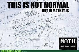 Math; Not Even Once This is an intervention for +Mellie B, because ... via Relatably.com