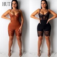 <b>HUTI</b> Unique Lace Jumpsuits Women Tracksuit Playsuit <b>Sexy</b> ...