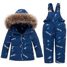 WESIDOM Baby Boys Girls Snowsuit, Toddler Winter ... - Amazon.com
