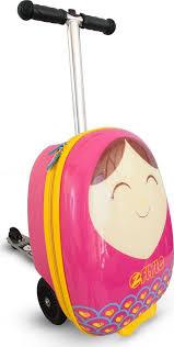 <b>Самокат</b>-<b>чемодан</b> детский <b>Zinc Betty</b>, <b>ZC04092</b>, разноцветный