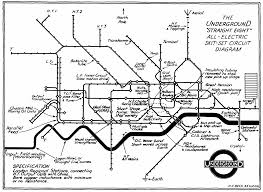 Draw Electric Circuit Henry Charles Beck Material Culture And The London Tube Map Of
