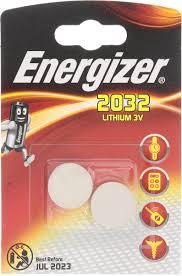 "<b>Батарейка Energizer</b> ""Lithium"", тип <b>CR2032</b>, 3V, 2 шт — купить в ..."