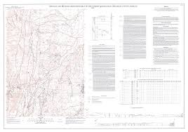Geology and mineral resources map of the