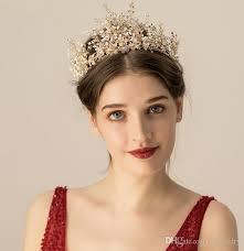 2019 Vintage Wedding Bridal <b>Headband Crystal Rhinestone Crown</b> ...