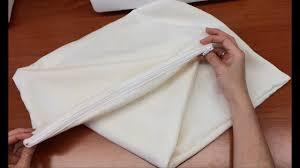 Как сшить <b>чехол на подушку с</b> молнией - YouTube