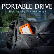 LaCie Rugged Mini <b>5TB</b> External Hard Drive Portable HDD <b>USB 3.0</b> ...