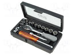 AV07031 AVIT - <b>Набор ключей</b>   с шестигранной головкой; хром ...