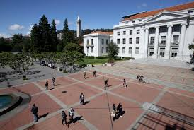 these are the top colleges in california college choice news sproul plaza on the university of california berkeley campus the campanile in the background