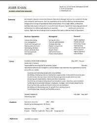 team leader resume  team leader resume sample success  team leader    business operations manager resume examples  cv  templates  samples