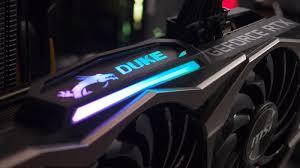 Обзор <b>видеокарты MSI GeForce RTX</b> 2080 DUKE 8G OC — i2HARD