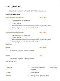resume job history format   cv writing servicesresume job history format great resume examples by job format problem solved basic resume templates
