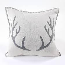 <b>Подушка с орнаментом</b> Deer, 45х45 см, <b>EnjoyMe</b> | Купить в Москве