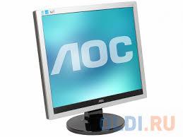"<b>Монитор AOC E719SDA</b> 17"" <b>Black</b>/<b>Silver</b> — купить по лучшей ..."