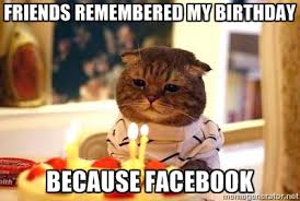 Memes Vault Birthday Meme for Facebook Walls via Relatably.com