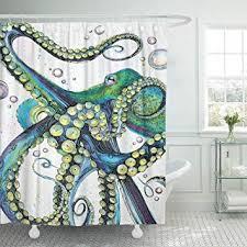Emvency Shower Curtain Vintage Colorful Fashion ... - Amazon.com
