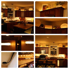 Under Cupboard Lights Kitchen Wireless Under Cabinet Lighting Controlled By A Remote For
