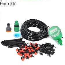 25m <b>Garden</b> DIY Micro Drip <b>Irrigation System</b> Plant <b>Self Automatic</b> ...