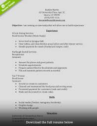 how to write a perfect internship resume examples included internship resume summer