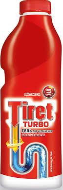 """Гель для удаления засоров """"<b>Tiret Turbo</b>"""", 1 л — купить в интернет ..."""