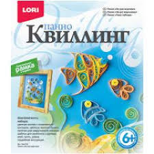 <b>Набор для творчества LORI</b> Квл-002 Квиллинг Панно На дне ...
