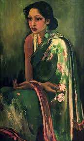 Image result for indian woman painting