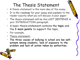 how to write an essay your handy dandy guide to organizing a  the thesis statement a thesis statement is the main idea of the essay it is