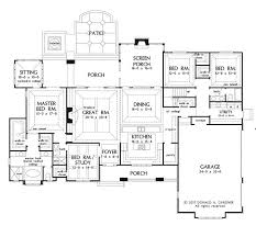 Superb Big House Plans   One Story House Plans With Porches    Superb Big House Plans   One Story House Plans With Porches