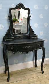 french boudoir black vintage dressing table vanity mirrorshabby chic bedroom black antique style bedroom