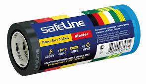 <b>Изолента Safeline</b> master <b>15/5 комплект</b> 7 цветов - купить с ...