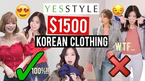 Try-On Haul: $1500 OF KOREAN CLOTHES ON YESSTYLE! | Was it ...