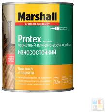 Купить <b>Лак</b> Marshall <b>Protex</b> Parke Cila 10 <b>алкидно</b>-<b>уретановый</b> ...