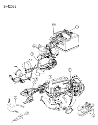 wiring engine related parts for 1994 chrysler lhs 1994 chrysler lhs wiring engine related parts diagram 00000c5d