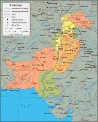 Resultado de imagen para mapa de pakistan