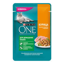 <b>Влажный корм для домашних</b> кошек PURINA ONE Indor с ...