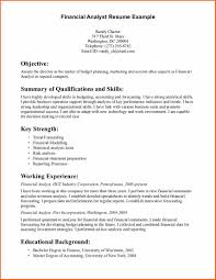 entry level financial analyst resume info entry level financial analyst resume example 2