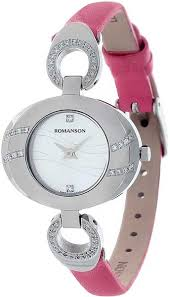Наручные <b>часы Romanson RN0391QLW</b>(<b>WH</b>)<b>PINK</b> — купить в ...