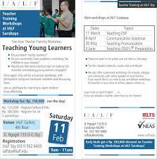 latest news ialf language foundation teacher training at ialf surabaya motivating your learners a testimonial