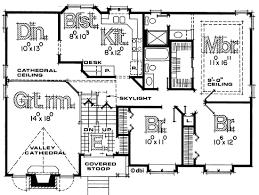 Split Entry House Plans   Design BasicsSplit Entry Floor Plan