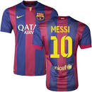 FC Barcelone domicile maillot Messi Maillots-Football